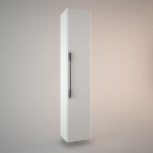 Bathroom wall cabinet 3d model TRAFFIC