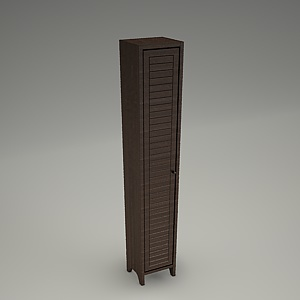 tall cabinet 3d model - MOCCA