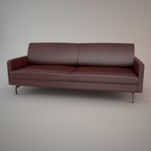 Sofa 3d model - BLUES CARTER 3