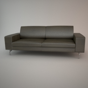 Sofa 3d model - BLUES MEMPHIS 2,5