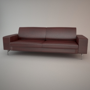 Sofa 3d model - BLUES MEMPHIS 3