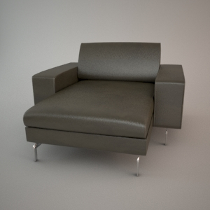 Sofa 3d model - BLUES MEMPHIS CHL90