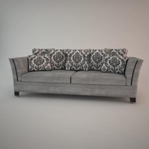 Sofa 3d model - FAMA 3