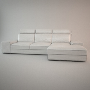 Sofa 3d model - HAVANA 2,5 CHL