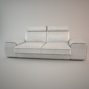 free 3d models - Sofa 3d model - HAVANA 2,5 ZAG