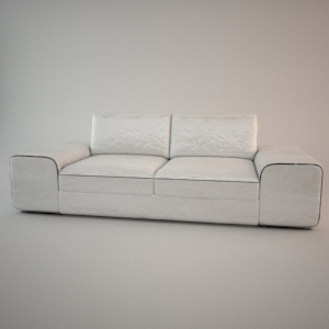Sofa 3d model - HAVANA 2,5