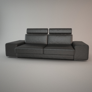 Sofa 3d model - HAVANA 3 ZAG