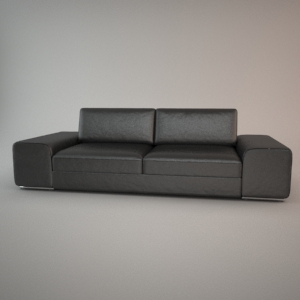 Sofa 3d model - HAVANA 3