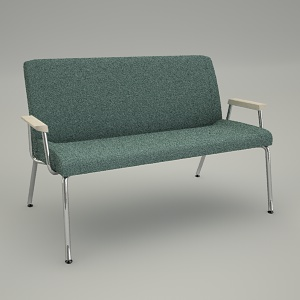 sofa 3d model - REST RS 422P
