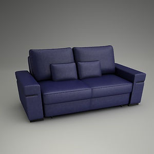 free 3d models - Split Sofa 3d model