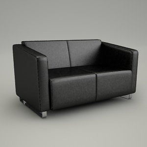sofa 3d model - VOO VOO VV 422