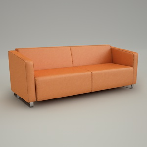 sofa 3d model - VOO VOO VV 423