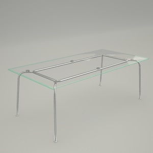 conference table 3d model - VIM TS1