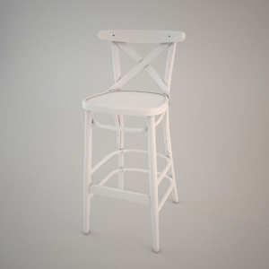free 3d models - Bar stool BST-8810_2 3d model FAMEG
