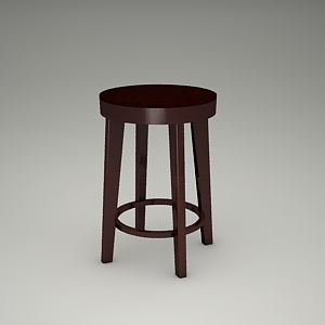 free 3d models - bar stool 3d model - BST-9972_61