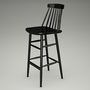 free 3d models - bar stool 3d model - MODERN BST-5910