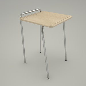 office table 3d model - SET UP STL