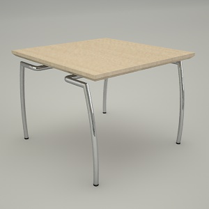 office table 3d model - VECTOR VT TS2