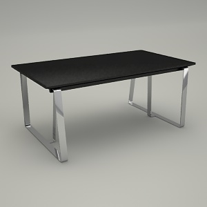 office table 3d model - VOO VOO VV TS1