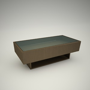 Coffee table free 3d model 3