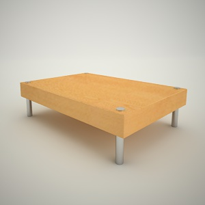 Coffee table free 3d model 4