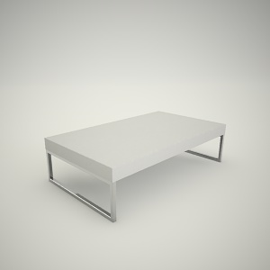 Coffee table free 3d model 6