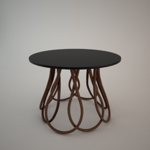 Coffee table ST-1311 3d model FAMEG