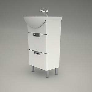 Cabinet 3d Model Dahlia Libra Cersanit Free 3d Models Free 3d Base