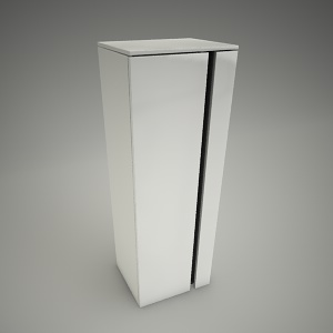 free 3d models - Cabinet domino xl 110cm