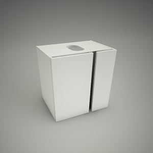 free 3d models - Cabinet domino xl 50cm