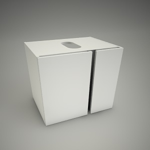 free 3d models - Cabinet domino xl 60x46cm