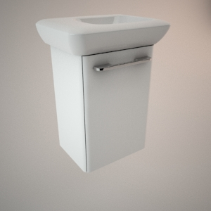 Bathroom vanity unit I 3d model LIFE!