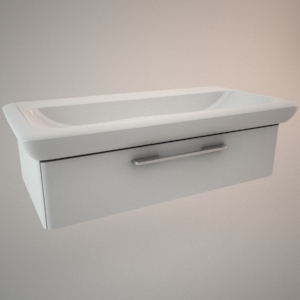 Bathroom vanity unit III 3d model LIFE!