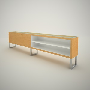 Tv rack free 3d model 3 - Free3dbase - Free 3d models - Free 3D Base