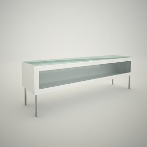 free 3d models - Tv rack free 3d model 4