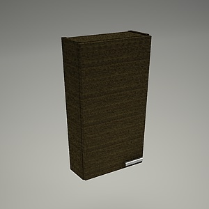 free 3d models - Cabinet wall FRIDA