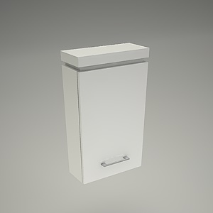 free 3d models - Cabinet wall OLIVIA