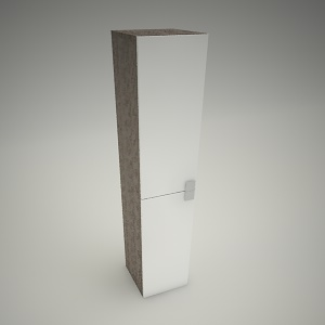 free 3d models - Tall cabinet primo