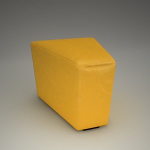 Home Cinema Stool 3d model