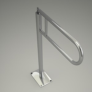 free 3d models - floor holder 3d model