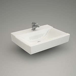 free 3d models - Furniture basin CARLA 60