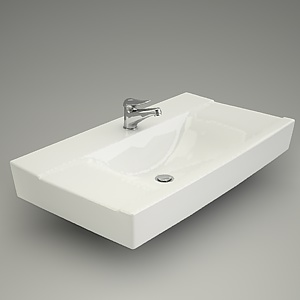 free 3d models - Furniture basin CARLA 90
