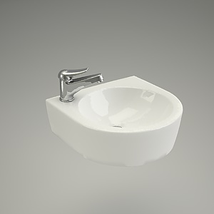 free 3d models - Washbasin NANO 40
