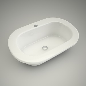 Washbasin cocktail oval 65cm