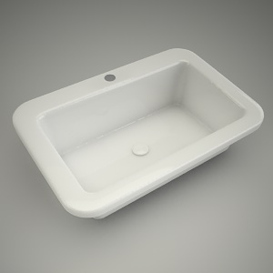 free 3d models - Washbasin cocktail 65cm