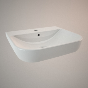 free 3d models - Classical sink 55 cm TRAFFIC