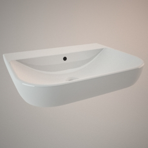 free 3d models - Classical sink 60 cm TRAFFIC