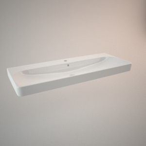 Countertop sink 120 cm TRAFFIC