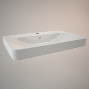 Countertop sink 75 cm TRAFFIC