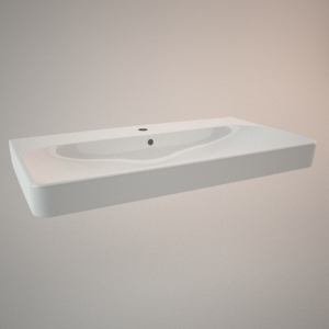 Countertop sink 90 cm TRAFFIC